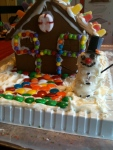The Awesome Gingerbread House.