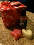 My buy one get one free goodies from Lush: Trip #1 The Snow Fairy