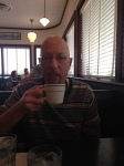 Saturday's breakfast with Dad at Monument Cafe